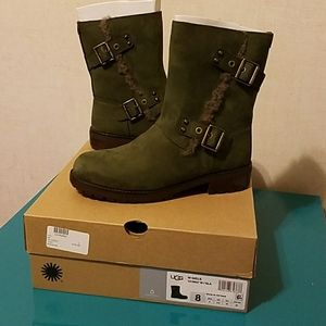 Ugg Neils boots suede and wool slate color